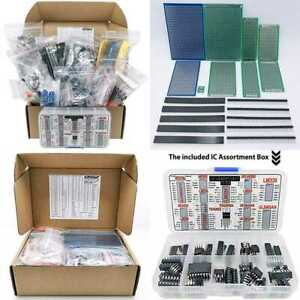 Interstellar Electronic Components Assortment Kit Grab Bag Resistors Polyester C