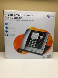 At t Ms2085 4 line Small Business Deskset Main Console Telephone
