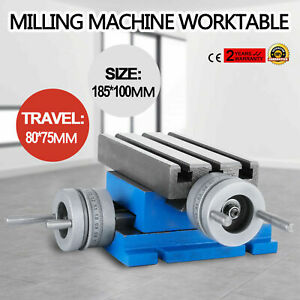 Milling Drilling Machine Worktable Cross Slide Table 4 X 7 3 Bench Table