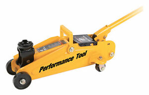 Performance Tool 2 Ton Compact Trolley Jack W1606