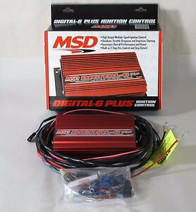 Msd 6520 Ignition Digital 6 Plus Digital Cd Universal Points Electronic