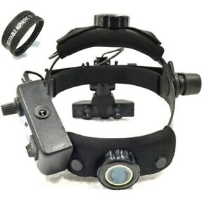 Brand New Indirect Ophthalmoscope With 20 D Lens Black Colour Accessories