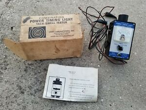 Vintage Combination Tach Dwell Tester And Power Timing Light From Orbit Labs
