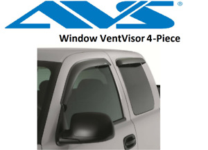 Avs Rain Guards Original Window Vent Visor 99 16 For Ford Super Duty Supercab
