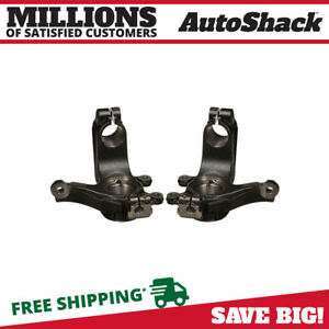 Front Bare Steering Knuckle Pair For 2006 2007 2008 2009 2010 2011 Ford Focus