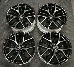 4 2017 Factory Nissan Gt r 20 Oem Wheels R35 Rims