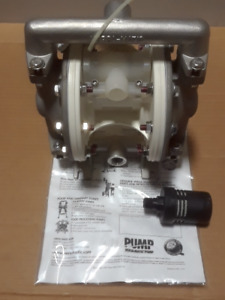 Versa matic E5sp5t559 1 2 Stainless Steel Double Diaphragm Pump New