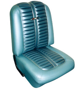 Upholstery 1963 Ford Fairlane 500 H T Sports Coupe For Front Buckets And Rear