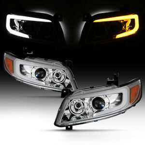 For 03 08 Infiniti Fx35 Fx45 S50 Led Drl Switchback Signal Projector Headlight