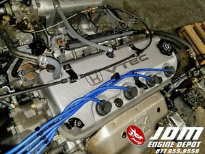 94 97 Honda Accord 2 2l Vtec Engine Motor Only Jdm F22b