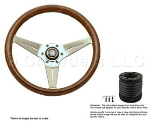 Nardi Deep Corn 350mm Steering Wheel Momo Hub For Porsche 5069 35 3000 C231