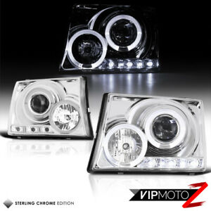 Angel Eye Halo Projector Headlight For 97 00 Tacoma Pre runner V6 2wd 4wd Truck