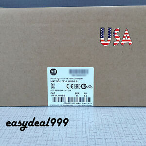 Factory New Allen bradley 1763 l16bbb Micrologix1100 16point Controller Warranty