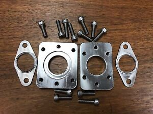 Porsche 944 Turbo Tial 38mm Wastegate Adapter Plate Kit Worldwide Shipping 951