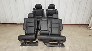 2018 Jeep Grand Cherokee Summit Seats Front Rear Left Right Black Leather Oem