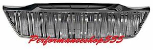 Front Grille Vertical Type All Chrome For Toyota Fortuner 2012 2014