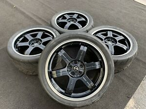 Nissan Gt R Black Edition 20 Inch Wheels Rays Engineering Tires Rims Oem