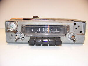 1970 1976 Dodge Plymouth A Body Am Radio Oem Dart Duster Valiant Scamp 71 72