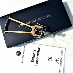 Best Price Brand New Ophthalmic Tonometer Schiotz Type Optometry Free Shipping