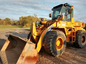Samsung Sl120 2 Wheel Loader