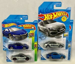 Hot Wheels 2019 17 Acura Nsx 2 Alpine A110 Audi Rs 2 Walmart Exclusive