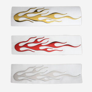 3d Flame Individualized Car Body Reflective Sticker Graphic Decals Accessories G