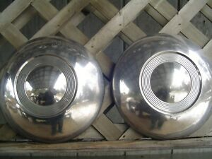 2 Vintage Max Wedge Plymouth Dodge Chrysler Hubcaps Wheel Cover Center Cap Fury