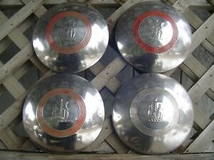 Vintage 1951 1952 Plymouth Cranbrook Cambridge Belvedere Hubcaps Wheel Covers