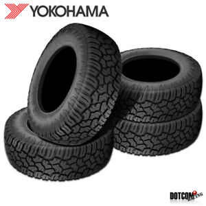 4 X New Yokohama Geolander X at 35x12 50r17 121q E Tires