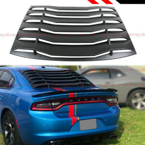 For 2011 2020 Dodge Charger R T Srt Hellcat Rear Window Windshield Louver Cover