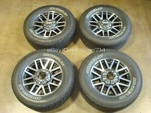 20 2017 20 Ford F250 F350 Machined Lariat Fx4 Wheels Tires Rims Oem Factory