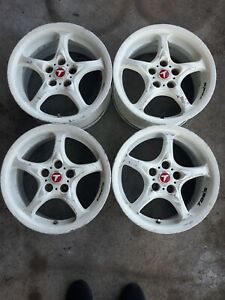 4 15 Tom s Rays Volk Racing Wheels 5x100 15x7 45 Trd Rare Celica Forged