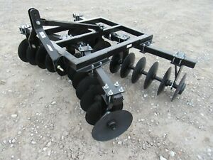 Category 1 3 Point Plain Disc Harrow Plow Fits 3 Point Hitch Tractor 7 7 Wide
