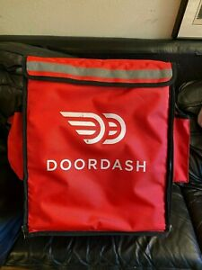 Door Dash Insulated Backpack Delivery Pizza Hot Food Bag 16 X 15 X 18