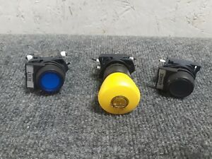 3 Sprecher Schuch Momentary Switches And Emergency Stop D7 x10 J253