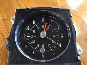 Rare 1970 1971 1972 Buick Skylark Gs Stage I Ii Rally Clock Restored
