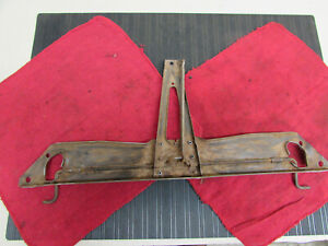 Original Early 1939 Ford Deluxe Coupe Sedan Hood Latch T plate