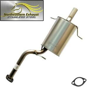 Stainless Steel Exhaust Muffler Fits 2006 2008 Subaru Forester 2 5l