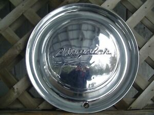 One 1949 Chrysler New Yorker Royal Windsor Saratoga Hubcap Wheel Cover Vintage