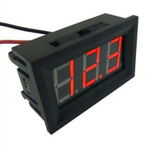 Led Display Mini Voltmeter Tester Digital Voltage Meter Car Volt Test Dc 0 30v