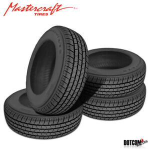 4 X New Mastercraft By Copper Tires A S Iv 215 75r15 100s All Weather Tire