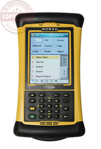 Nomad Survey Pro Surveying Data Collector total Station trimble topcon tds
