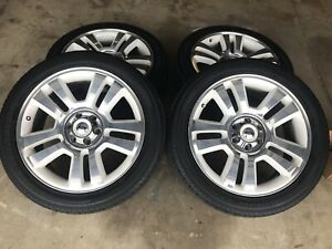 2008 F 150 Limited Edition Wheels And Tires Ford Rims F150 22 White And Chrome