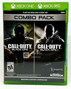 Call of Duty: Black Ops 1 amp; 2 Combo Pack Xbox 360 Xbox One Brand New $39.99