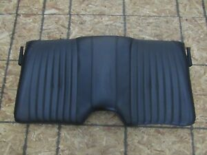 1993 2002 Firebird Trans Am Oem Rear Leather Upper Seat Section Ebony D10