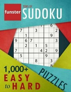Funster Tons of Sudoku 1000 Easy to Hard Puzzles: A bargain bonanza for Sud… $11.24