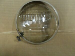 Zz Vintage Ford Car Ford Pickup Twolite Headlight Lens