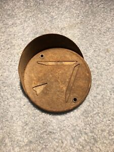 Antique Turn Signal Cover Lens Arrow With Hooded Sheild