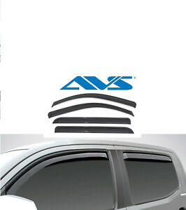 Avs Rain Guards In Channel Window Vent Visor 2008 2013 For Toyota Highlander