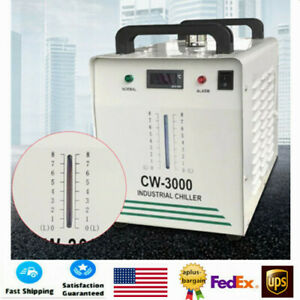 Cw 3000 Industrial Water Chiller For Co2 Glass Laser Tube Of The Laser Engraver